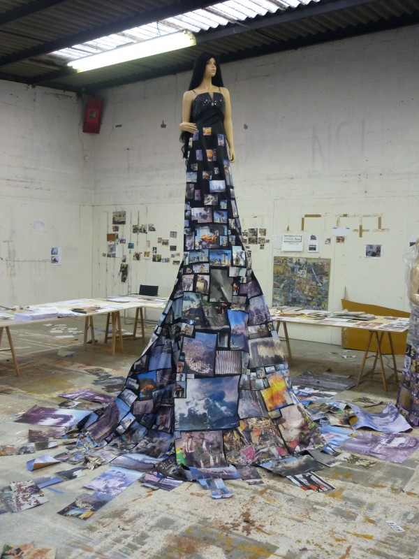 Thomas Hirschhorn, High Subjecter, 2010.