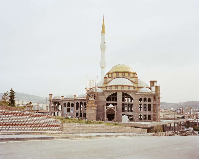 İvedik Yavuz Sultan Selim Cami, under construction, Yenimahalle, Ankara 2016, from the Brave New Turkey series.