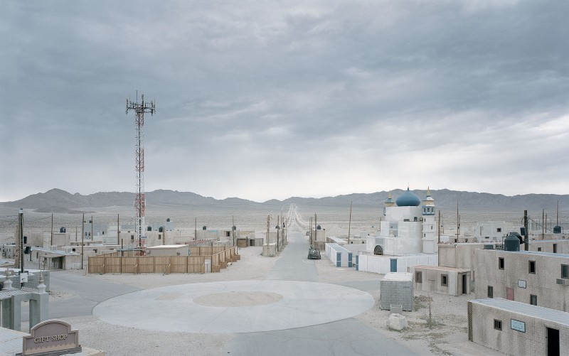 Gregor Sailer, Junction City IV, Fort Irwin, US Army, désert des Mojaves, Californie, États-Unis, 2016