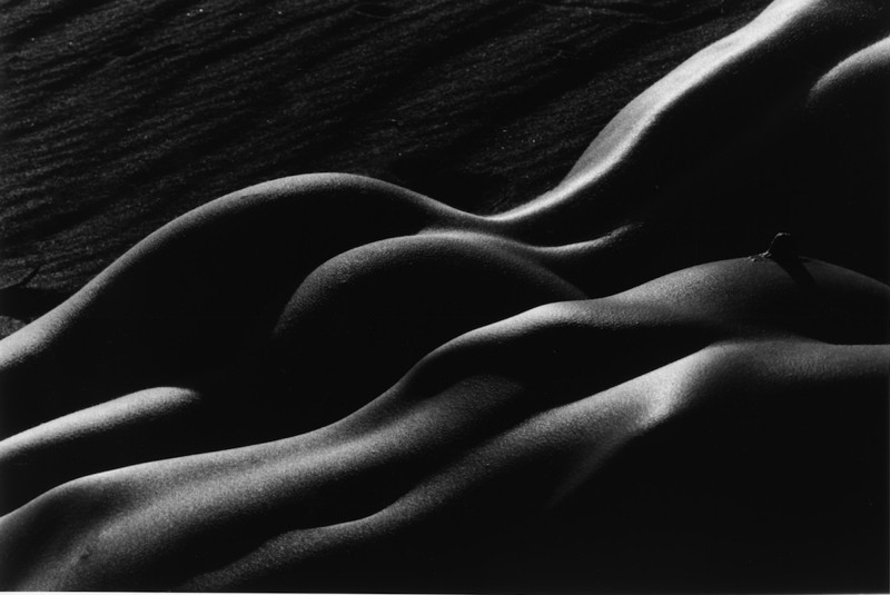 Lucien Clergue, Two Nudes in the Desert, Death Valley, 1997.