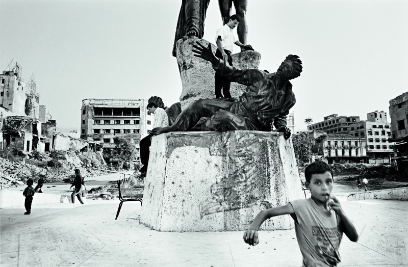 Samer Mohdad Place des Martyrs, Beyrouth, 1992.