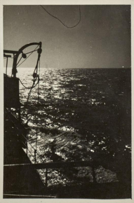 Germaine Krull, At sea.