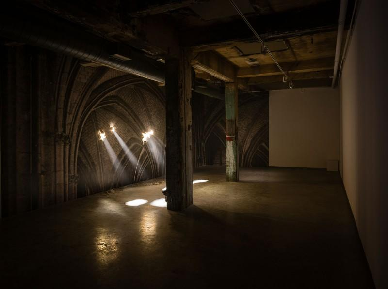 Cathedrale, 2013. Photograph by Maxime Boisvert. Courtesy of Galerie Simon Blais, Montreal. Musée d'art contemporain de Montréal collection.