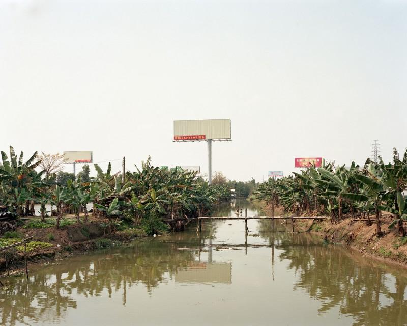 Kurt Tong, Empty Billboards, 2017, Zhongshan, China. Courtesy of the artist and The Photographer's Gallery.