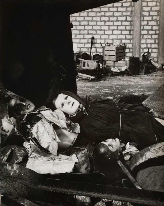 Lucien Clergue, The Rag-picker's Mannequins, Arles, 1956. Courtesy of the Atelier Lucien Clergue.