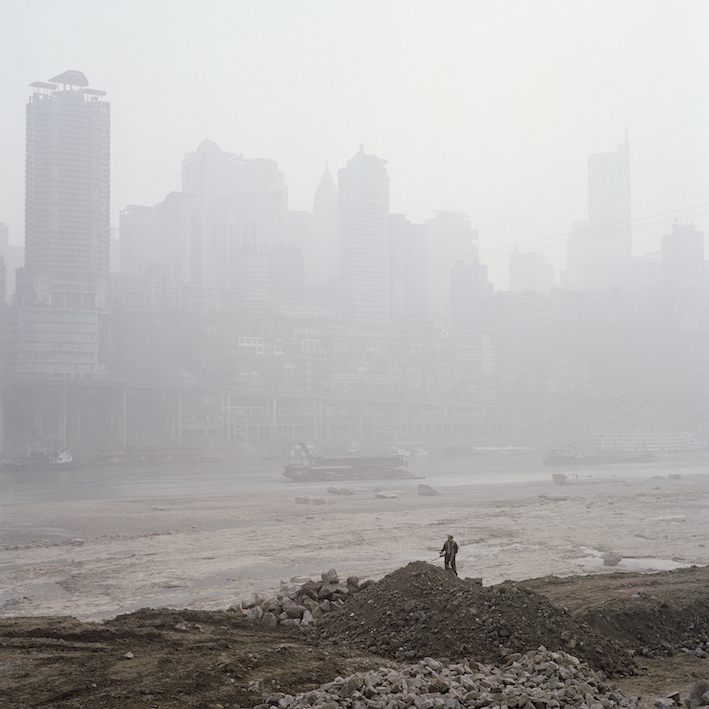 Liu Ke, City in the Fog, 2007, Archival Inkjet Print, courtesy of the artist.
