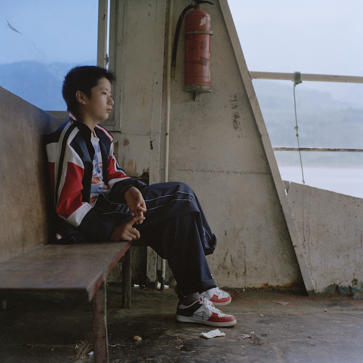Liu Ke, Boy on Ferry, 2008, Archival Inkjet Print, courtesy of the artist.