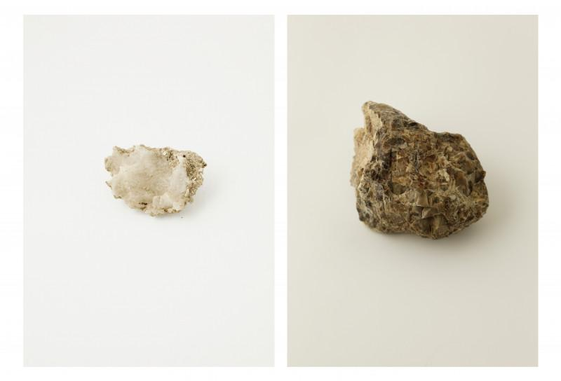 Ilanit Illouz, Pose, Judaean Desert, salt rock and dolomite, from The Sinkholes series, 2016–2021. Courtesy of the artist.